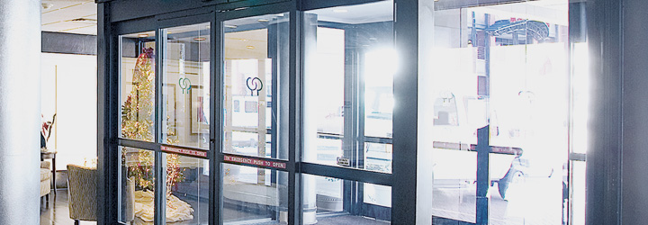 Supreme Door Spring Co. supplier of automatic sliding doors
